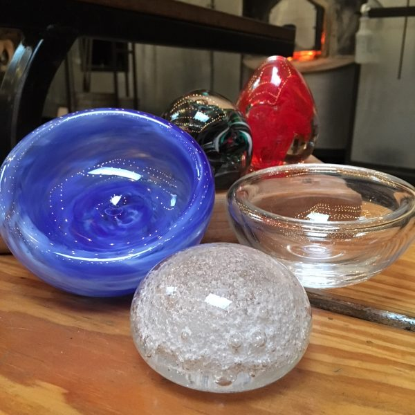 Paperweights and Bubble Bowls