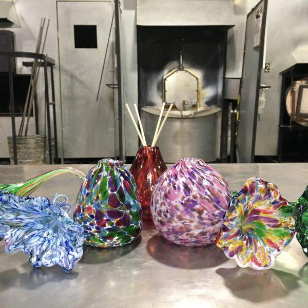 Mini Vases and Flowers